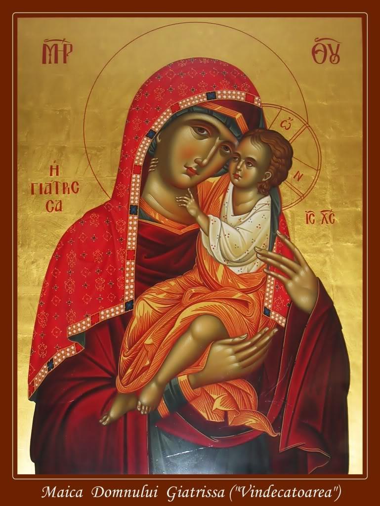 Maica Domnului Giatrissa vindecatoarea sau doctorita